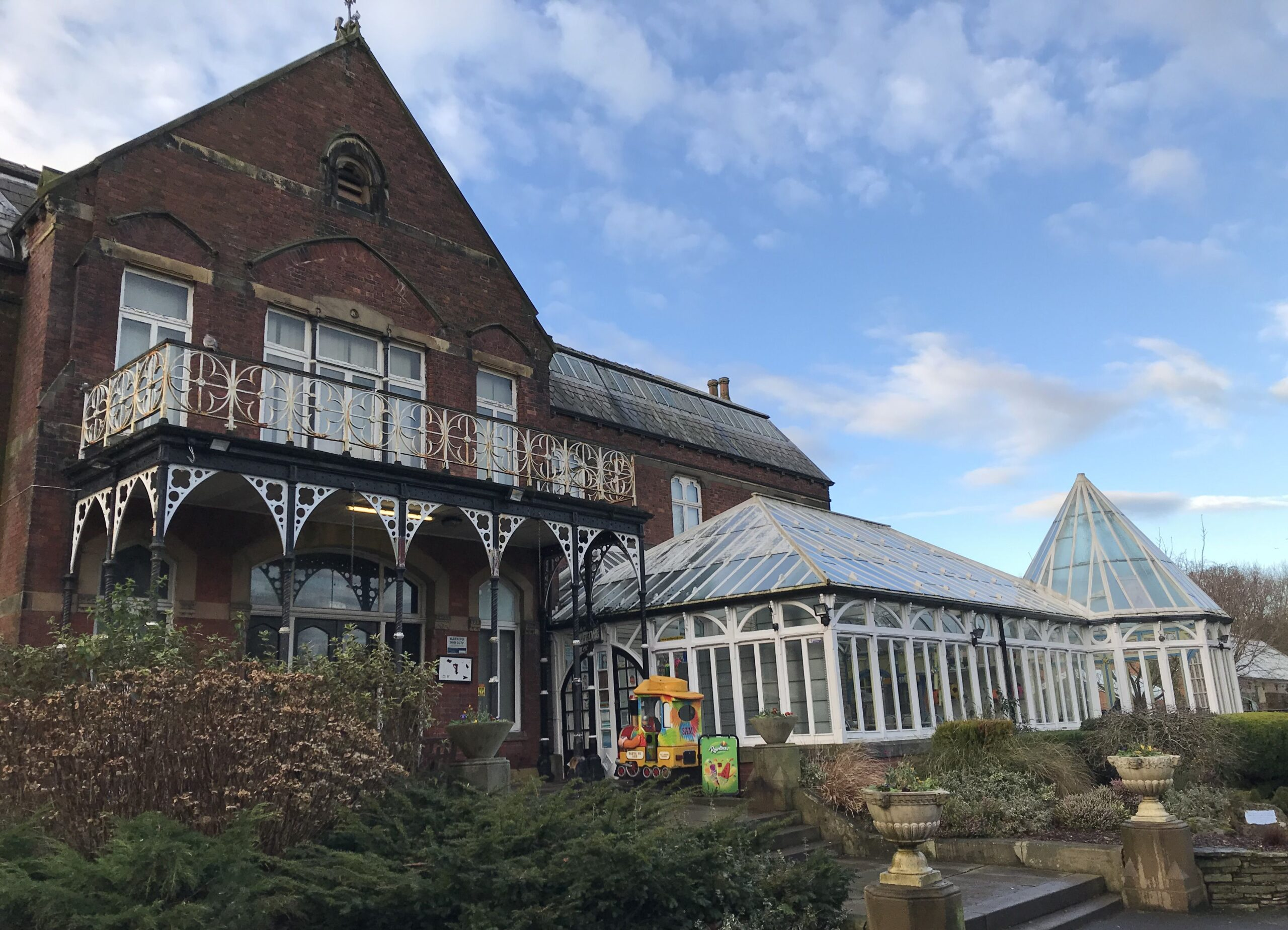 The Botanic Gardens Museum and cafe. Photo by Andrew Brown Media