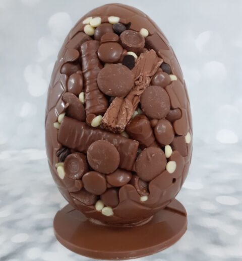 Southport chocolatiers create new extra thick egg-splosion Easter eggs