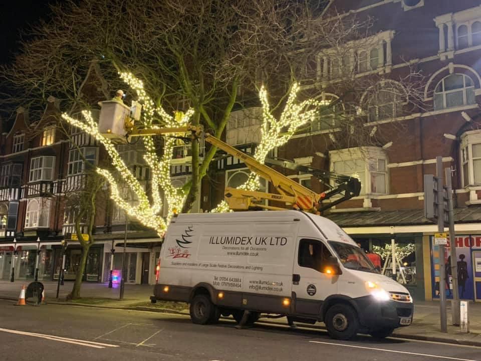 Illumidex UK Ltd has installed new lighting along Lord Street in Southport