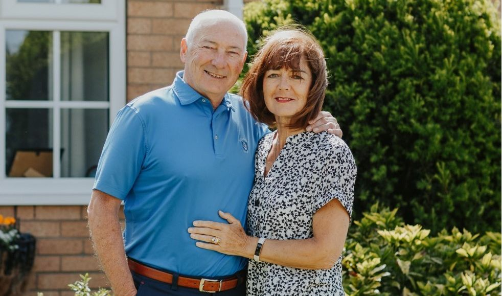 Southport grandparents Joan and Jimmy O'Shaughnessy have gained over 400,000 followers and millions of views on TikTok. They are pictured here in 2020