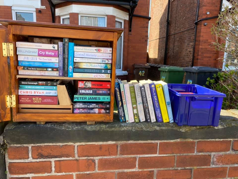 The community library of Clifton Road in Southport