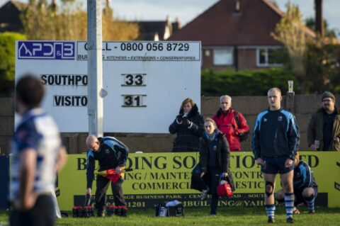 Southport Rugby Football Club unveils new digital scoreboard thanks to Fletchers Solicitors