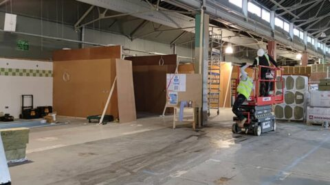 Southport Market pictures reveal inside building as work continues on new food, drink and events hub