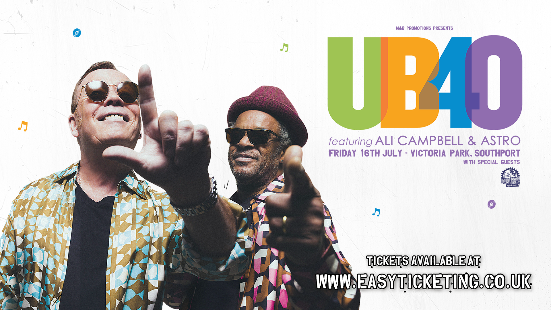 UB40 will perform a show at Victoria Park in Southport