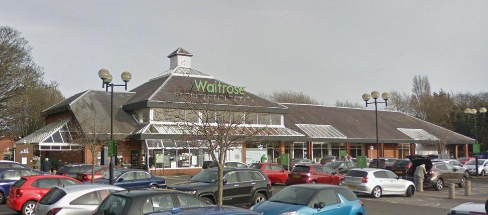 Waitrose supermarket in Formby