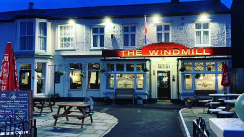 Windmill pub in Southport rings in the changes ready for reopening