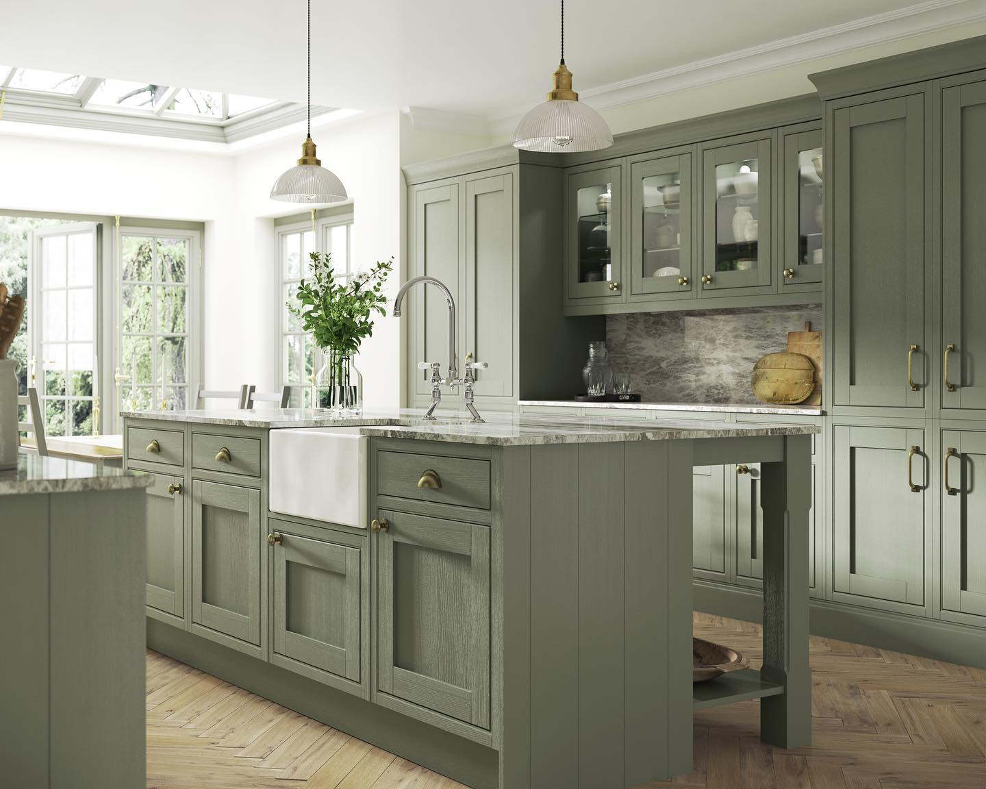The New England kitchen, a more traditional style on offer at Birkdale Kitchen Co. in Birkdale Village in Southport
