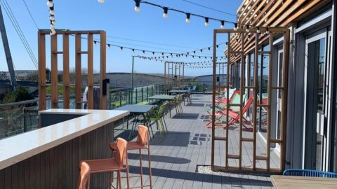 Roof garden at Bliss Hotel in Southport reopens with beautiful views across Marine Lake