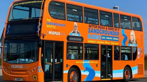 New 'Sandgrounder Shuttle' launched by Sandgrounder Radio and Peoples Bus