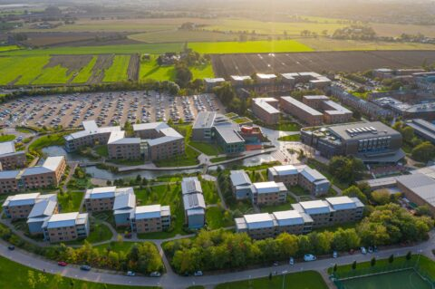 Edge Hill University in Ormskirk crowned University of the Year