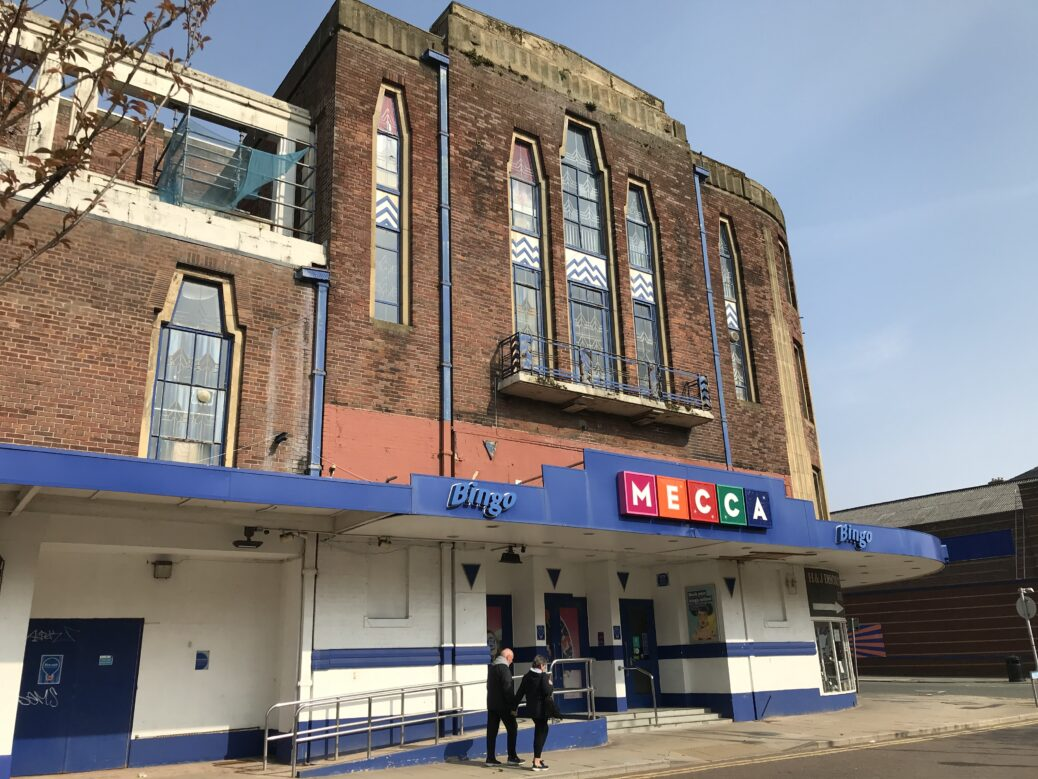 The former Garrick Theatre on Lord Street in Southport. Mecca Bingo has announced that it will not be reopening at the site. Photo by Andrew Brown Media