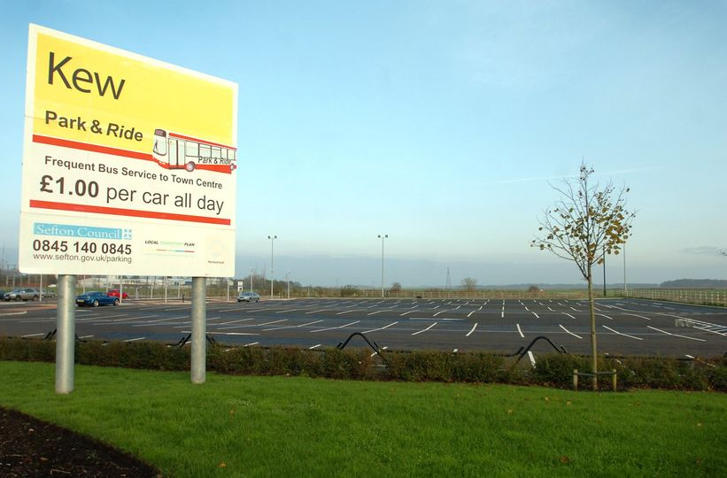 The Kew Park and Ride site in Southport