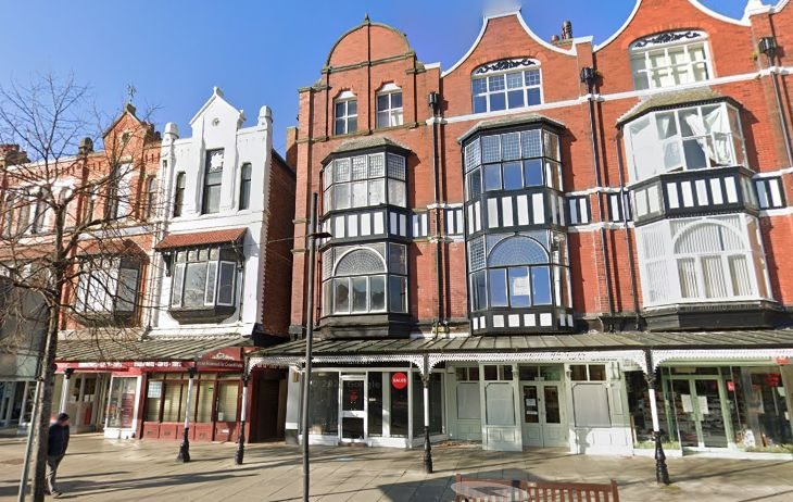 Plans have been submitted to change the use of the first, second and third floors at 179-181 Lord Street in Southport from offices into three self-contained aparthotel units. The building is in the centre of this picture