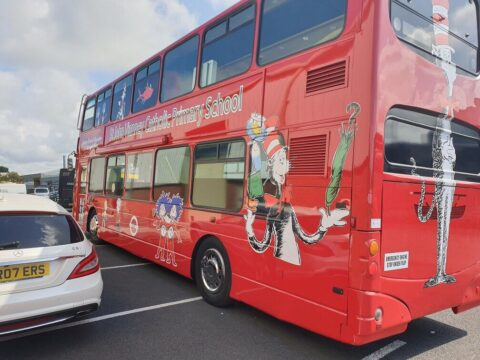 Southport primary school launches £10,000 'Big Bus Project' to help pupils and local community