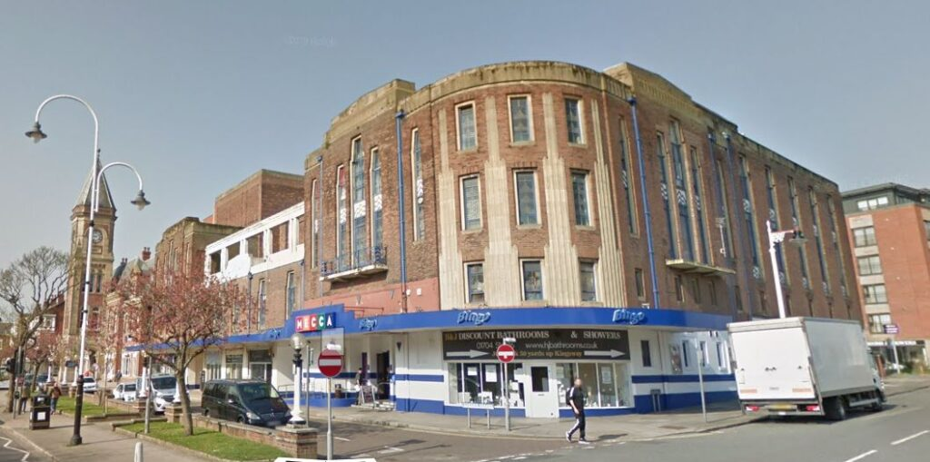 Mecca Bingo on Lord Street in Southport