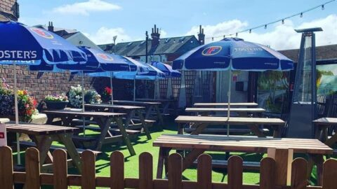 Beer garden 'oasis' in Southport town centre reopens after appeal by regulars
