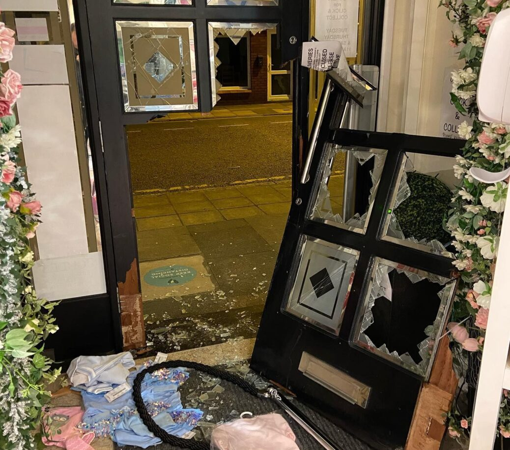 Burglars broke into the Over The Moon Kids Boutique in Southport
