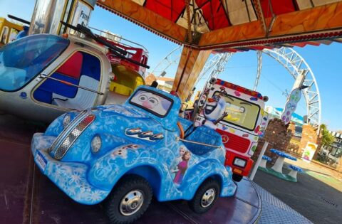 Southport Pleasureland 'looking amazing' as popular attraction reopens after lockdown