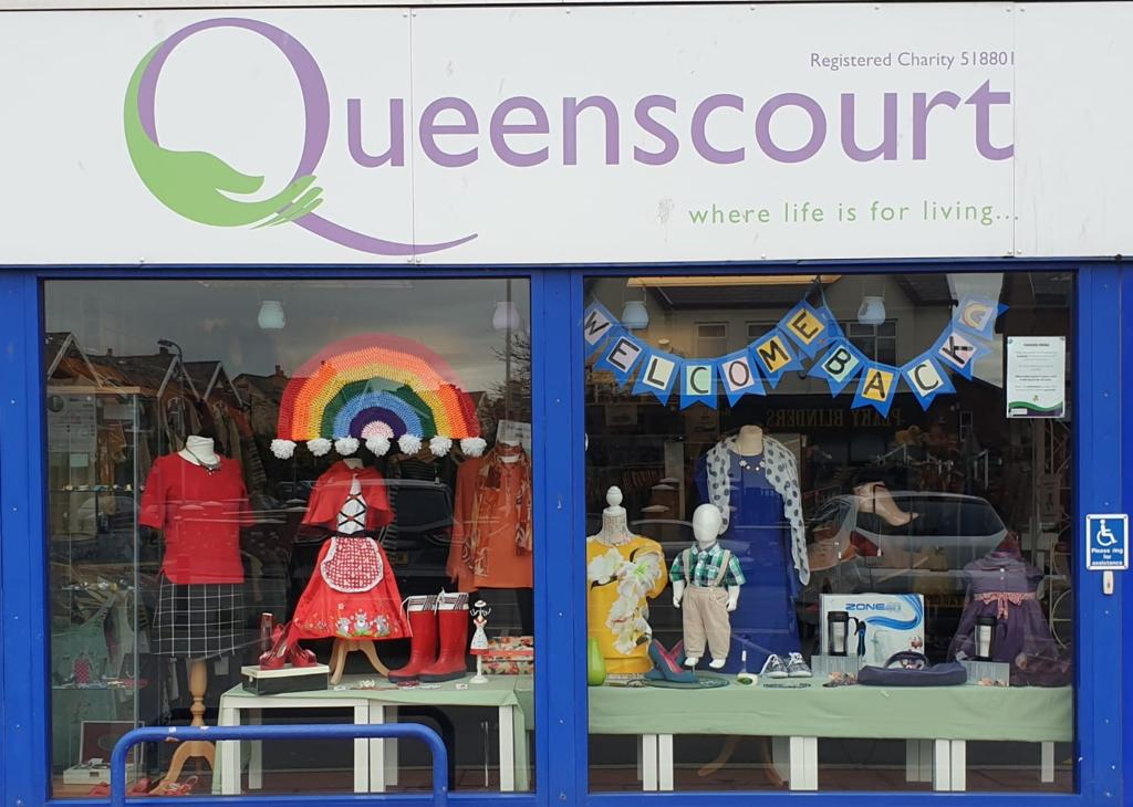 The Queenscourt Hospice charity shop in Churchtown in Southport