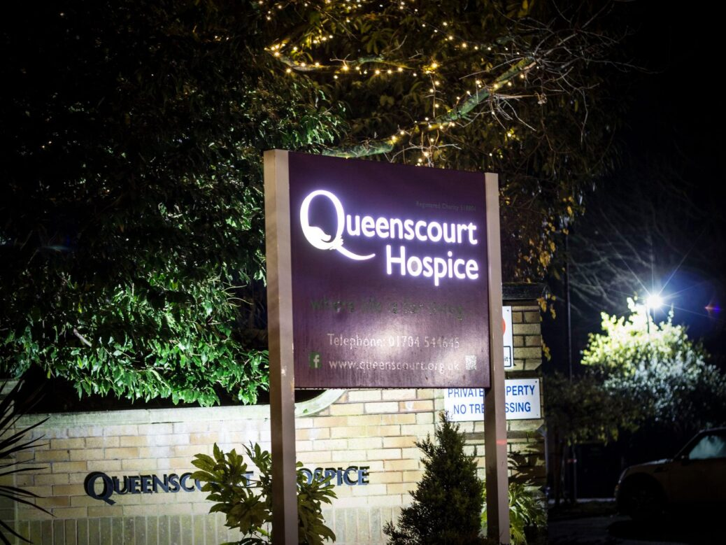Queenscourt Hospice in Southport