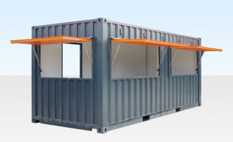 New shipping container cafes for Ainsdale will sell fish and chips, coffee and desserts