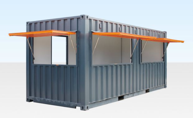 Sefton Council is proposing to site a shipping container cafe at Ainsdale Beach in Southport