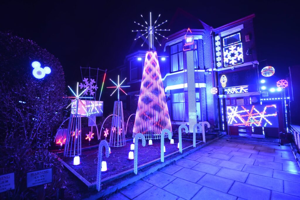 Sidney Road Lights in Southport
