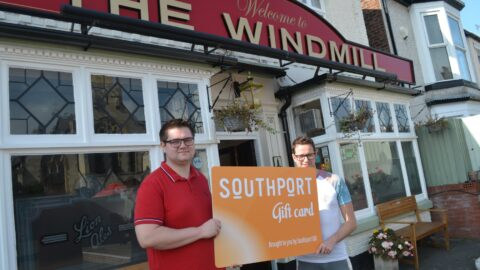 The Windmill pub invites people to support Southport Gift Card scheme