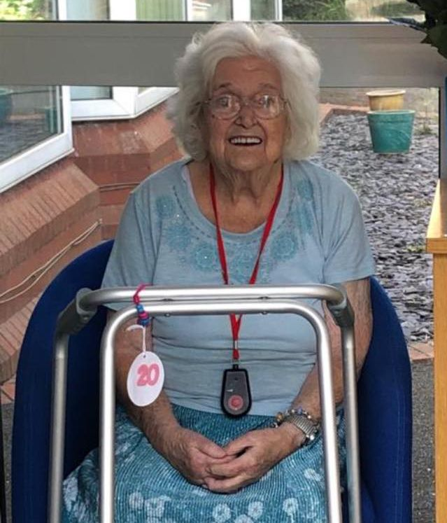 Agnes Kelly, from Southport, is looking forward to celebrating her 100th birthday