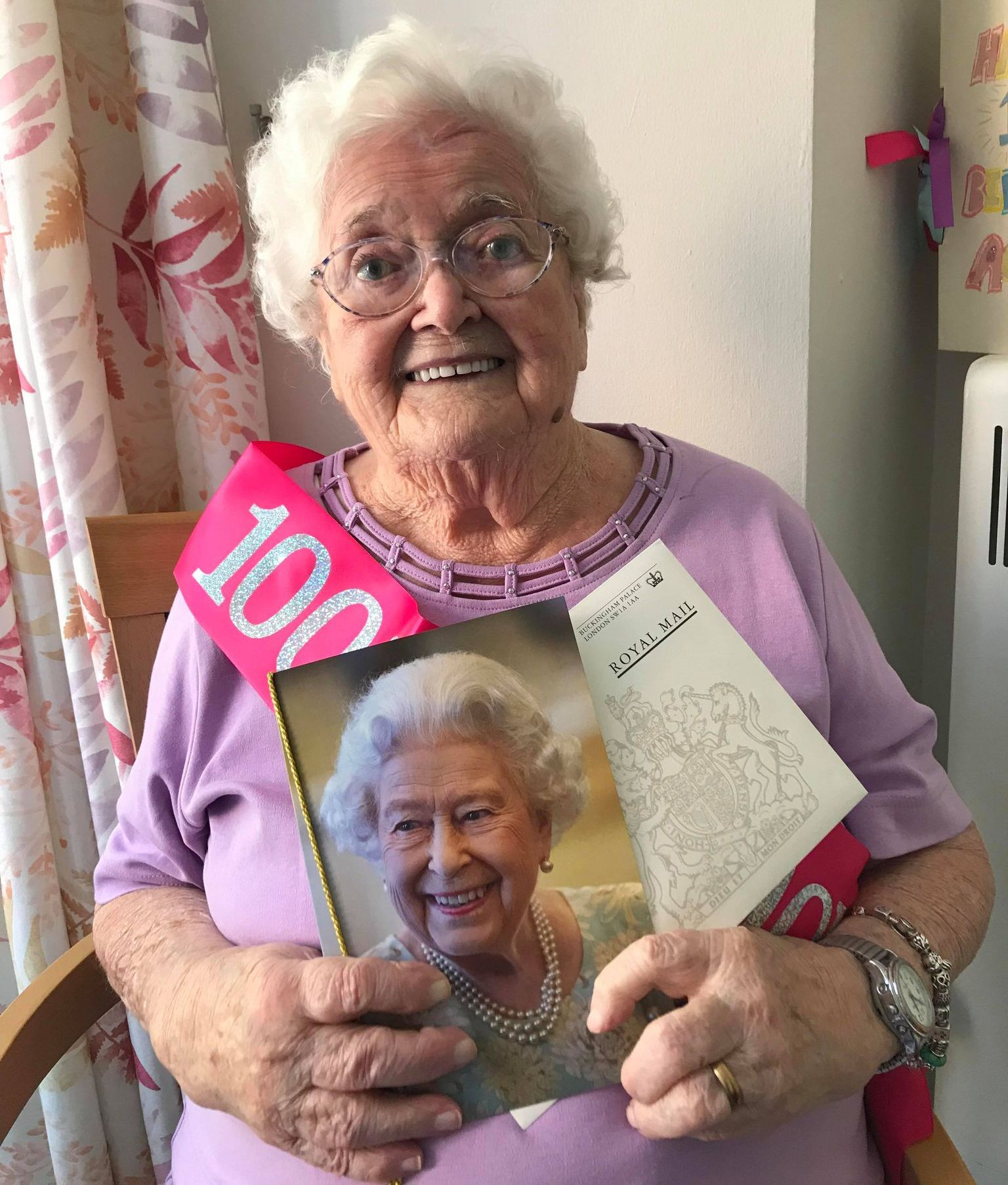 Agnes Kelly has celebrated her 100th birthday in Southport