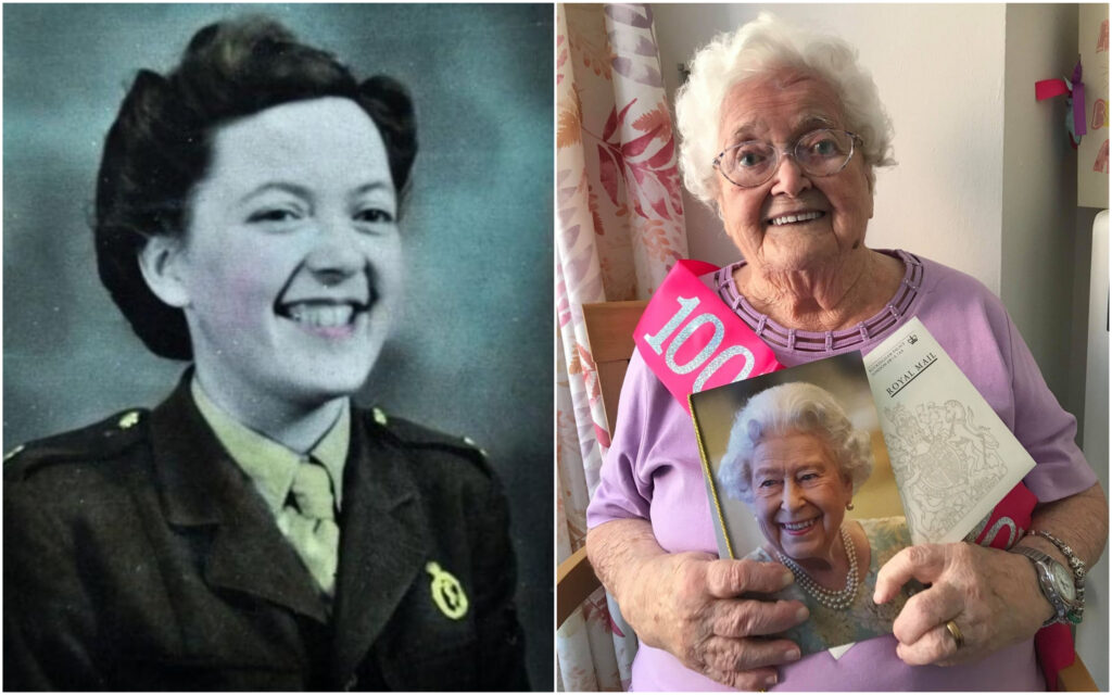 Agnes Kelly from Southport has celebrated her 100th birthday