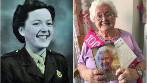 Great Grandmother, 100, sends thanks for 400 birthday cards from around the world – including one from Her Majesty
