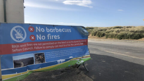 Beach goers urged to remain Covid cautious in Southport and Formby this Bank Holiday