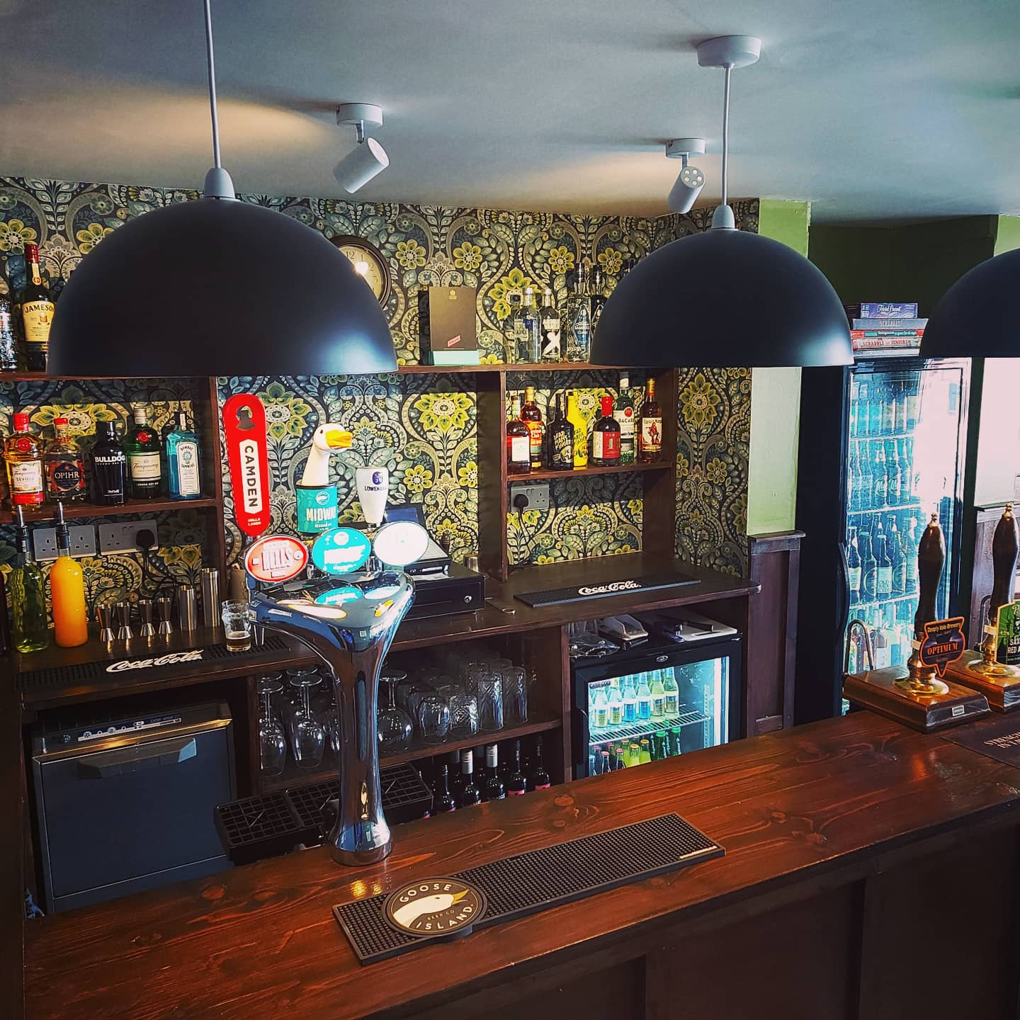 The Beer Den on Rufford Road in Crossens in Southport