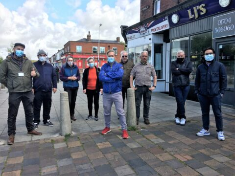 Plans resume to create a 'village' feel for Bispham Road in High Park