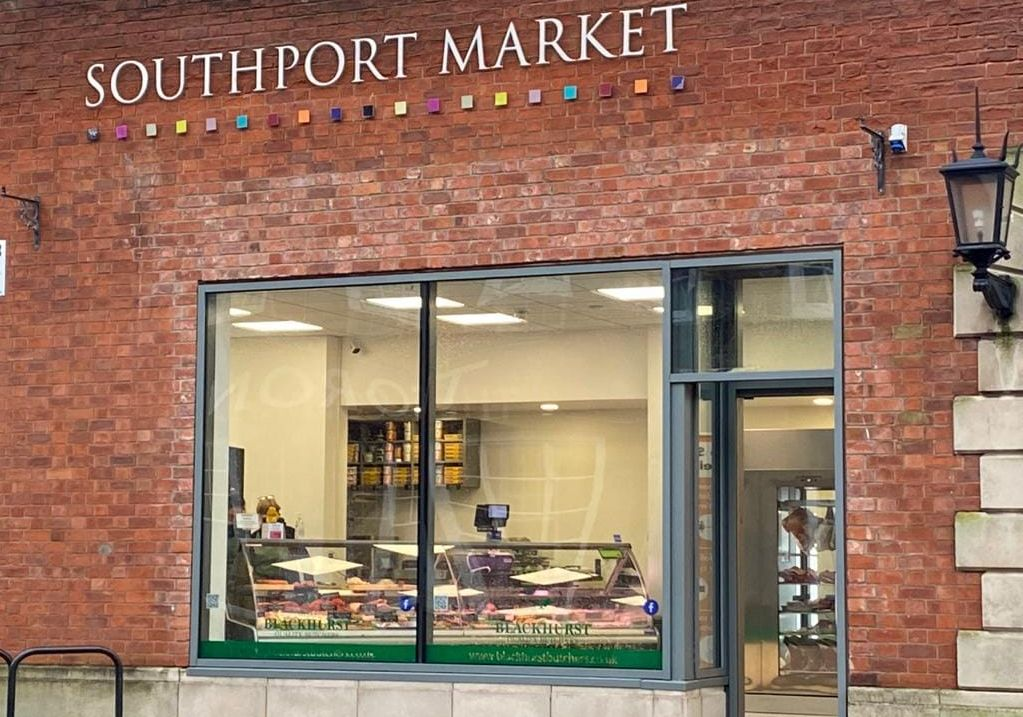 Blackhurst Butchers at Southport Market in Southport