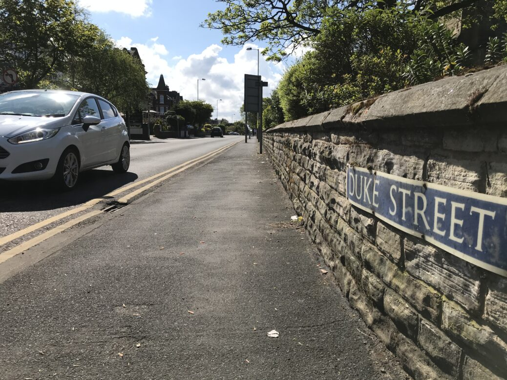 Duke Street in Southport. Photo by Andrew Brown Media