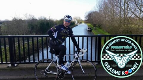 24 hour cycle to raise funds in memory of much-loved dad and police inspector for Everton in the Community