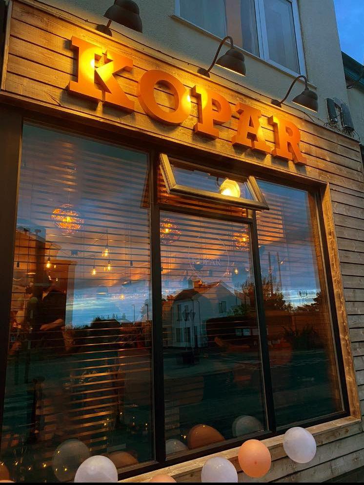 The new KOPAR bar in Hesketh Bank