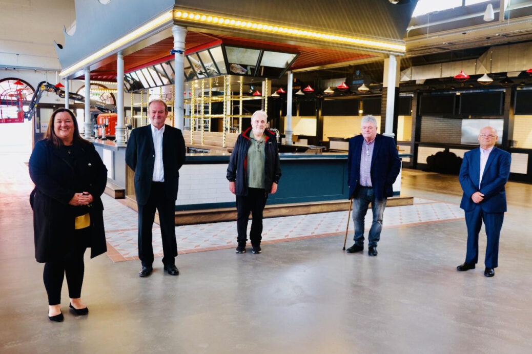 The brand new look Southport Market is on course to open its doors this summer