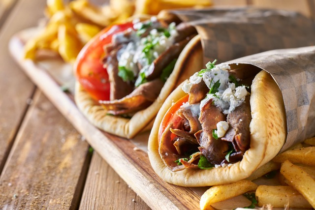 Pitamu, a vibrant Greek street food stall, is opening inside the new look Southport Market