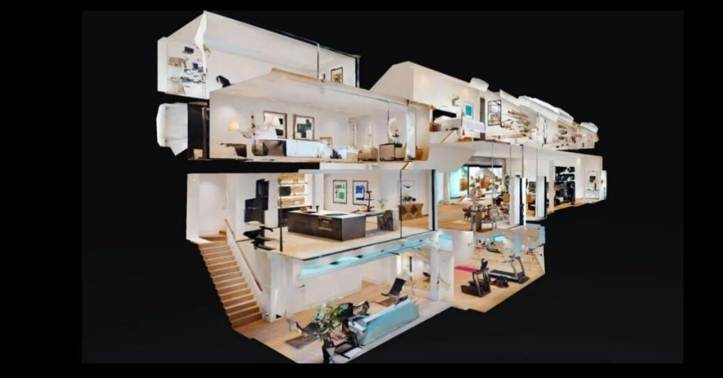 Roof Checker produces 3D Virtual Reality (VR) tours inside businesses and homes