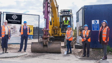 Sandway Homes begins building 48 new homes on former school site in Ainsdale in Southport