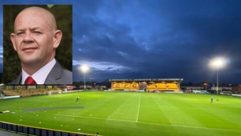 Southport FC 'a sleeping giant' says Frank Hughes as he joins club as Secretary