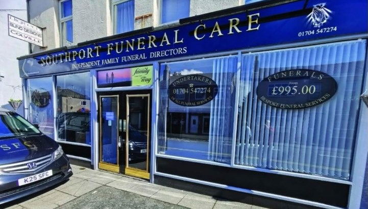 Southport Funeral Care at 25/27 Shakespere Street Southport