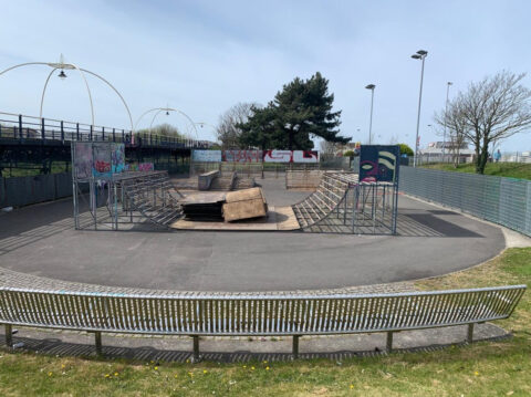 Southport Skatepark revamp nearing completion