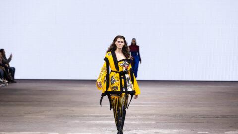 Talented Southport fashion designer makes his mark at Australian Fashion Week
