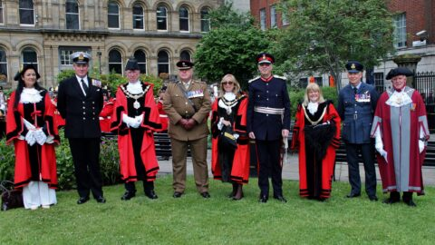 Mayor of Sefton honours fallen heroes at Armed Forces Day 2021