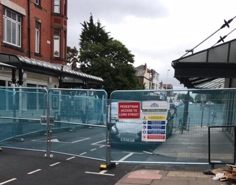 Bold Street in Southport closed as work begins to transform historic Lord Street building