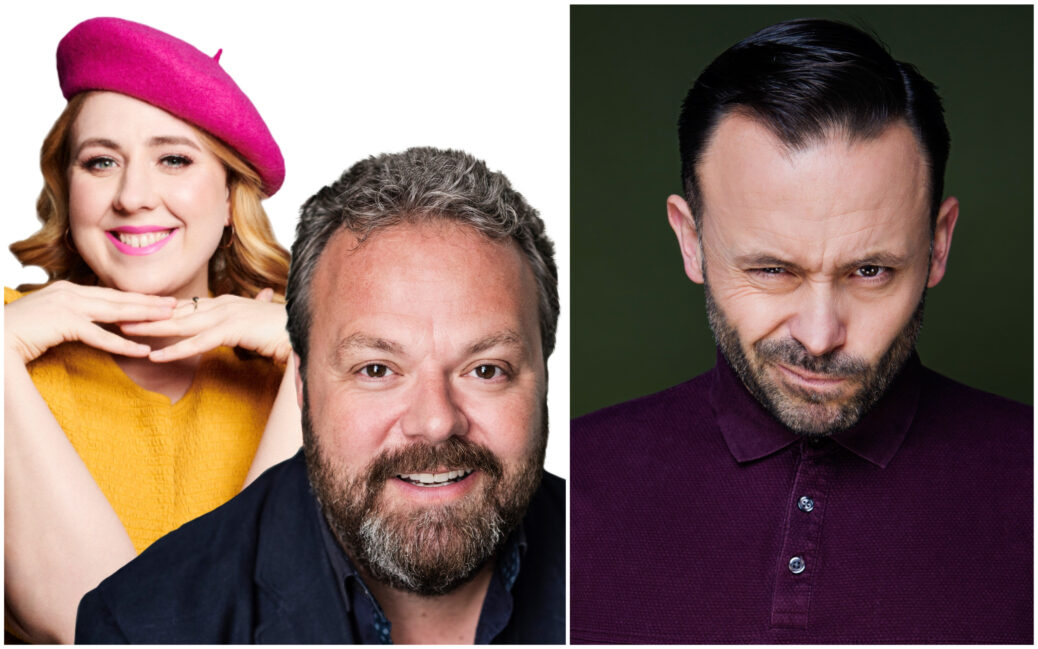 Hal Cruttenden, Geoff Norcott and Helen Bauer will perform at Southport Comedy Festival 2021